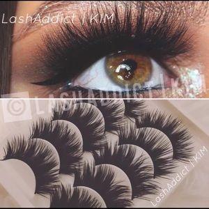 5 Iconic Faux Mink Lashes Eyelashes Makeup New
